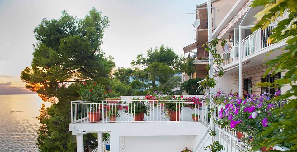 Spacious terraces