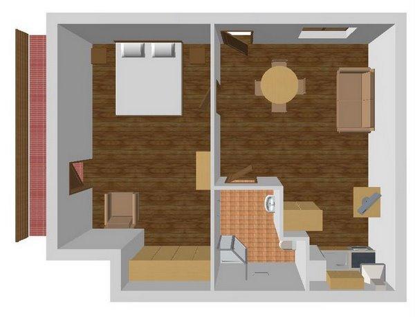 Апартаменты 1, план помещений