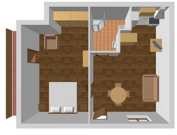 Апартаменты 2, план помещений